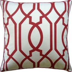 Ryan Studio Pillow - Gazebo - Red 22X22