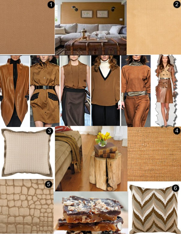 fashion week nyc nyfw 2014 tan brown toffee wallpaper fabrics
