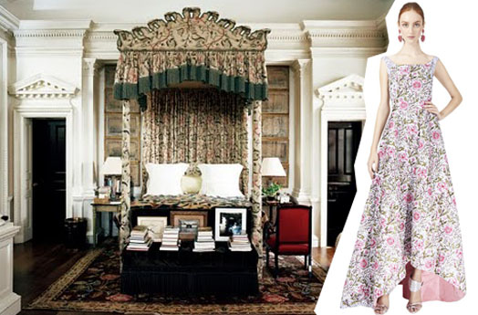 oscar de la renta home decor design trends fall fashion week  2014