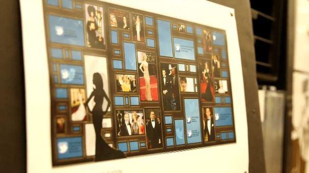 Oscars Green Room 2014 Media Board
