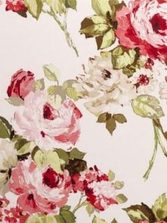 Clarke & Clarke Fabric - Romana - Rosso