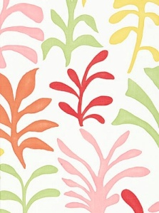 Schumacher Fabric - Ode to Matisse - Punch 174950