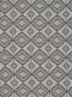 Schumacher Fabric - Amazing Maze - Kohl 65322