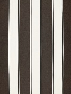 Schumacher Fabric - Cannes Awning Stripe - Java 65891