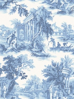 Cole & Son Wallpaper - Villandry - Cobalt Blue 99_1001_CS