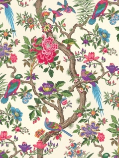 Cole & Son Wallpaper -  Fontainebleau - Fuschia 99_12050_CS