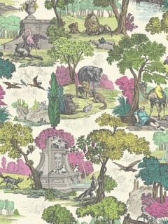 Cole & Son Wallpaper - Versailles Grand - Pink 99_16064_CS