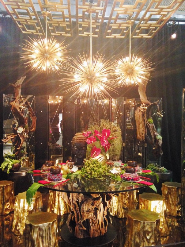 Arteriors DIFFA Dining by Design Architectural Digest Home Design Show 2014