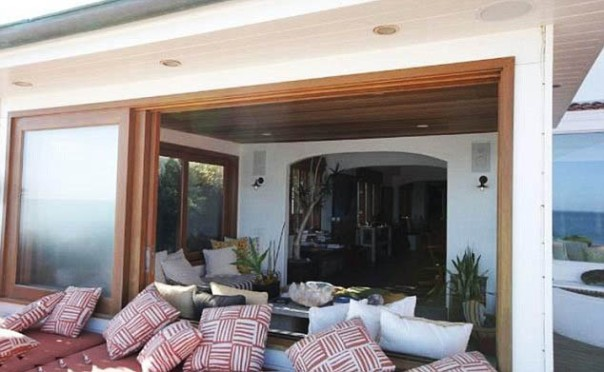 charlize theron malibu outdoor home decor
