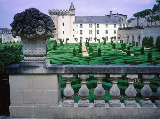 chateau de villandry in france french palaces gardens