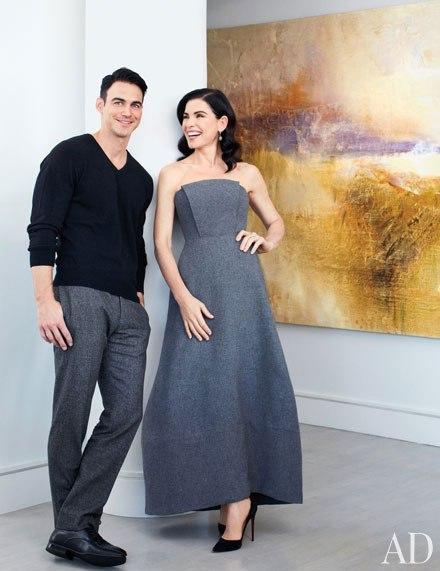 Julianna Margulies Home Decor with Husband