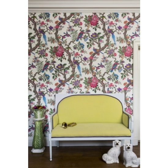 Cole and son folie wallpaper collection fontainebleau