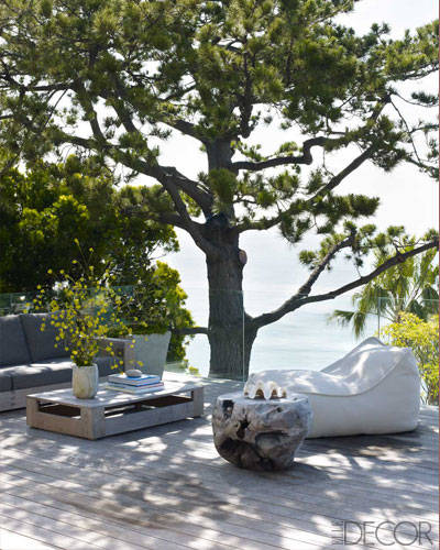 courteney cox malibu home decor outdoor space