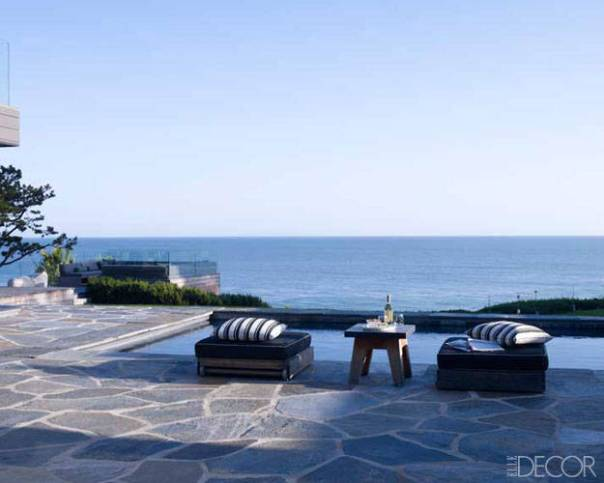 courteney cox malibu home outdoor decor pool