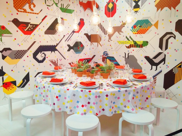 Designtex DIFFA Dining by Design Architectural Digest Home Design Show 2014