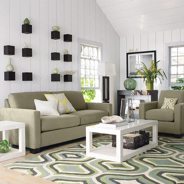 How to Choose Rug Size for Living Room Interior Decor