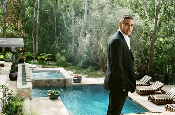 George Clooney at his Mexican Home
