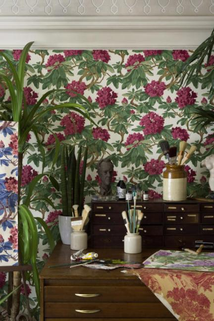 Cole & Son Folie Wallpaper Collection Bourlie French Interior Decor
