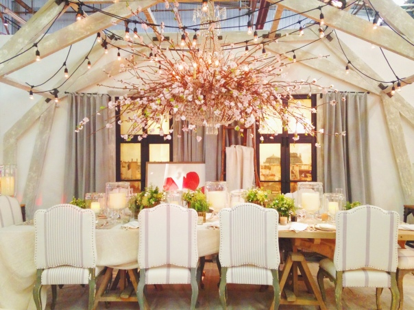 Ralph Lauren Home DIFFA Dining by Design Architectural Digest Home Design Show 2014