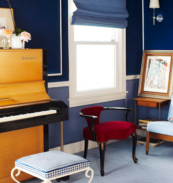 Zooey Deschanel Home Decor Music Room Piano