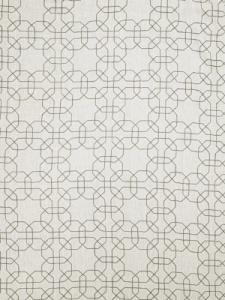 Fabricut Fabric - Gentry Geometric - Grey 0232401