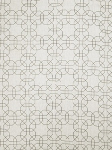 Fabricut Fabric - Gentry Geometric - Grey 0232401