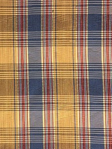 interior decor fabrics plaid blue yellow red interior decor design home dining tablecloth