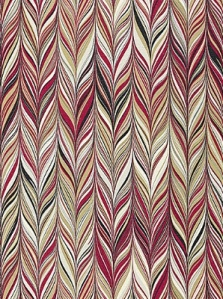 Schumacher Fabric - Firenze - Ruby 175053