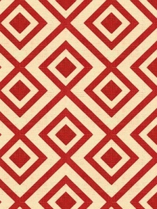 Groundworks Fabric - La Fiorentina - Red 2430-GWF_19_0