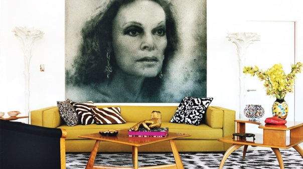 Diane von Furstenberg's Home Interior Decor Rug