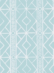 Stroheim Wallpaper - Twig - Turquoise 4763005
