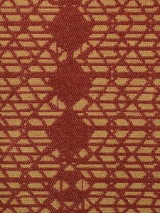 Duralee Fabric - 90878 - Gold/Red