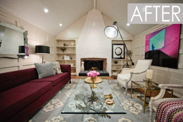 American Dream Builders Designer Interior Decor After Makeover Team Red Nate Berkus