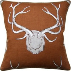 Ryan Studio Pillow - Antlers-204-T