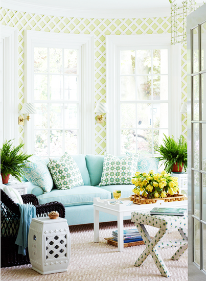 Lattice Interior Decor Walls Trends Spring 2014