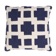 Jaipur Pillow - Thunder - Navy & Milk COA15