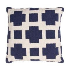 Jaipur Pillow - Thunder - Navy & Milk COA15