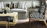 David Hicks Geometric Decor Interiors