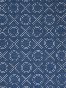 Jaipur Outdoor Rug - Xoxo - Blue/Ivory