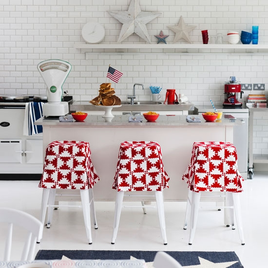Geometric Kitchen Decor