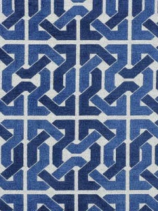 Groundworks Fabric - Cliffoney - Blue/White GWF-2727_515_0