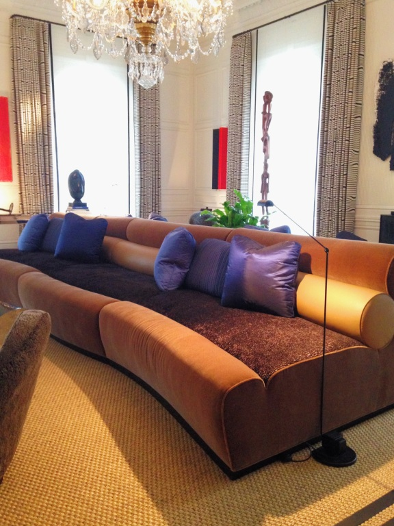 Kips Bay Decorator Show House 2014 Juan Montoya Abstract Furniture