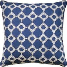 Ryan Studio Pillow - Keswick Ribbon -Porcelain