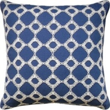 Ryan Studio Pillow - Keswick Ribbon -Porcelain