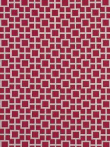 Robert Allen Fabric - Latticescape - Hibiscus