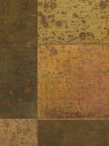 Maya Romanoff Wallcovering - True Metals Basketweave - Speckled Copper MR TM1977