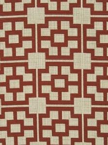 Pindler & Pindler Fabric - Lanai - Scarlet Pdl 2404-Scarlet