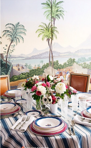 Alessandra Branca Tablescape Dining Room Decor Ideas