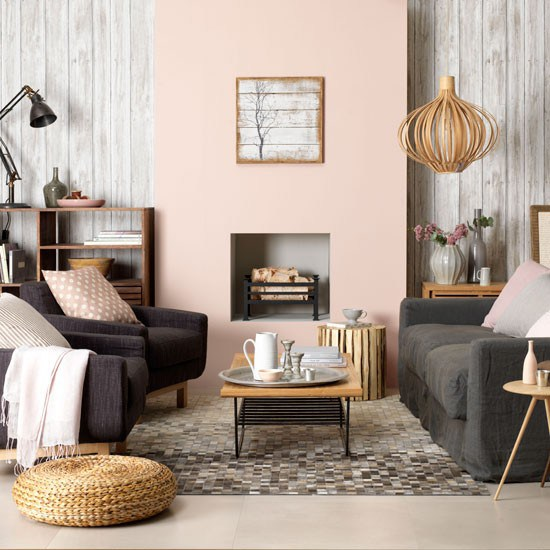 weathered worn distressed wood walls wallpaper interior decor