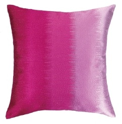 Peking Handicraft Pillow - Ombre - Fuschia 24NL33CC20SQ